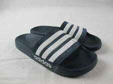 adidas Adilette Sandals & Flip Flops Men's Blue/White Used 10