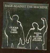 Rage Against The Machine: Clear The Lane & Hadda Jukebox PROMO Music CD w/ Art!