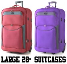 "Large 28"" Super Lightweight Trolley Case suitcase luggage"