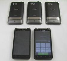 5 HTC ADR6400L ThunderBolt Verizon Cell Phone Lot TTY/TDD + Home Chargr