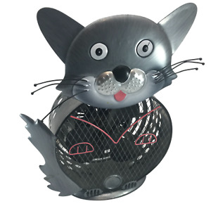 """Cat Electric Fan - Decorative and Functional - 14"""" Tall (approx.)"""