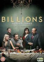 BILLIONS COMPLETE SERIES 3 DVD Third 3rd Season Three Paul Giamatti UK New R2