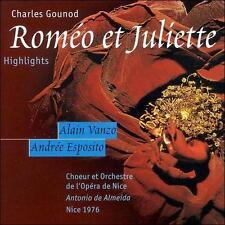 Charles Gounod Gounod: Romeo et Juliette [Highlights] CD
