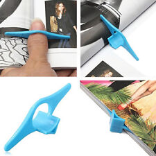 Reading Helper Multifunction Thumb Book Page Holder Marker Finger Ring _GG