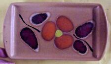 Ancien plateau à beurre vintage st clément céramique art de la table foie gras