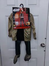 Star Wars Finn Boys Child Halloween Costume Size Small 4-6 NEW