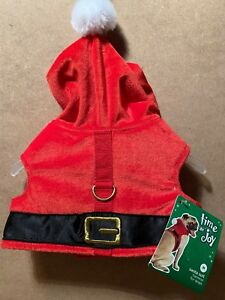 "Time For Joy XLarge Santa Suit Harness For Dogs Medium 15""-17"" Holidays Xmas"