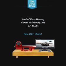 "Vauxhall Vivaro Reversing Camera & 7"" Monitor Brake Light Reverse Cam 2014 On"