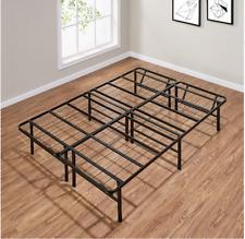 Full Size Platform Metal Steel Bed Frame 14 Inch Mattress Foldable Heavy Duty