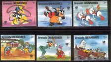 Grenada Disney Stamps Olympics Sport Serie Set of 6 Stamps Mint
