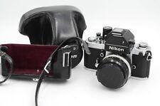 Nikon F2S Photomic 35mm SLR Camera W/ SC 50mm f/1.4 AI Lens DP-2 Prism & Case