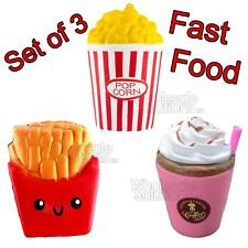 Fast Food Jumbo Slow Rising Squishies Squishy Squeeze Toy Stress Reliever Mobile