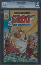 GROO THE WANDERER (1982) #5 CGC 9.6 NM+ WP REMARK AND SIGNATURE ON 1ST PAGE