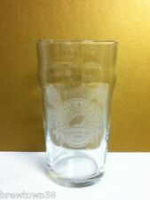 NEW Goose Island brewery beer glass Chicago Harvest Ale Mild Winter Summertime