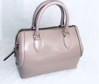 Gianni Notaro Italian Leather Satchel NWOT Blush Pink Handbag Crossbody Italy