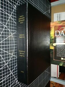 Dakes Annotated Reference Bible, 3 Column Black Bonded Leather, Large Print.
