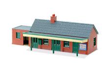 PECO Lk-12 Country Station Building Pre-coloured Plastic Kit 00 Gauge - T48 Post