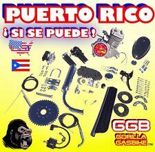 New Diy 2-Stroke 66cc/80cc Motorized Bike Kit For Bicycle Puerto Rico Ships Yes