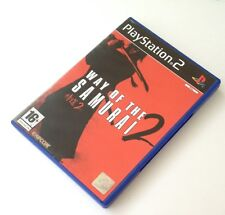 PROMO ps2 WAY OF THE SAMURAI 2 pal fr complet sony playstation 2