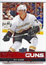 2012-13 Upper Deck Young Guns Mat Clark Rookie (Ducks) Very Nice