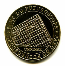 86 FUTUROSCOPE Omnimax, 2005, Monnaie de Paris