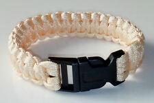 Bracelet de survie beige orangé