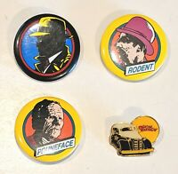 CHOOSE: Vintage Dick Tracy Pinback Pin Button * Combine Shipping!