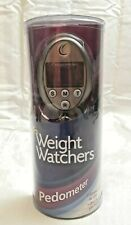 Weight Watchers Pedometer NIP Easy To Use One Button Per Function LCD NEW