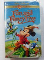 VHS Tape: Walt Disney Gold Collection Fun and Fancy Free Mickey Mouse