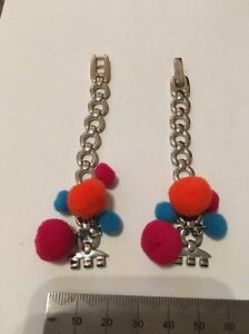 092 Swatch 12mm Ladies Small watch strap Steel Pom Poms 'cozy Balloons'