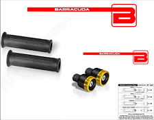 MANOPOLE BASIC NERE + CONTRAPPESI B-LUX ORO + ADATTATORI per YAMAHA T-MAX 500