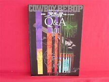"""Cowboy Bebop """"Tengoku no Tobira wo Tanoshimu Tameno Q&A 101"""" fan book"""