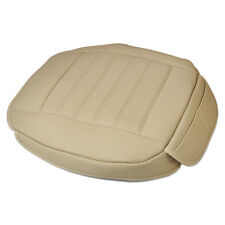 Beige Car Interior Front Seat Cover Seatpad fit for VW Audi BMW Benz Honda Buick