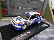 TOYOTA Corolla WRC Rallye Acropolis 1998 #14 Madeira Galp TMN Altaya IXO 1:43