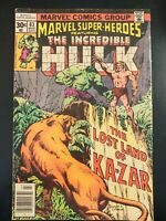 MARVEL SUPER-HEROES #63 Incredible Hulk (1976 MARVEL Comics) LOW GRADE Book
