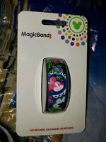 NEW DISNEY MINNIE MOUSE BOHO FLORAL BLACK Magic Band Magicband Flowers