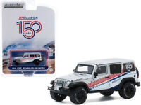 "2015 JEEP WRANGLER UNLIMITED WHITE ""ANNIVERSARY"" 1/64 DIECAST GREENLIGHT 28040 C"