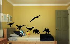 Childrens Wall Stickers Home Decor Of Dinosaurs