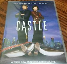 Castle: The Complete First Season 1 One(DVD, 2009, 3-Disc Set) New Free Shipping