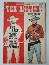 Tex Ritter Western (1957) #38  Comic book