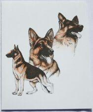 German Shepherd Dog Laura Rogers Pet Notes Notecard Set of 10