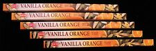 40 Sticks 5 Packs VANILLA ORANGE Citrus Fruit Fruity Scent Incense Insence Bulk