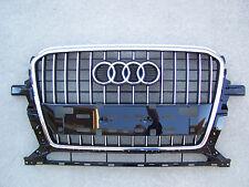 2013 2014 Audi Q5 Premium Plus OEM Piano Black Front Bumper Grill Grille