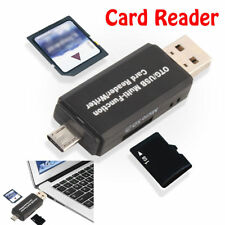 Multi Function Card Reader SD Card TF Triplet OTG Smart Card Adapter For Mac PC
