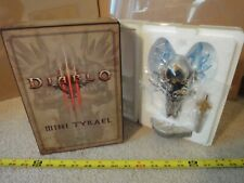 Diablo III 2011 Blizzcon exclusive Mini Tyrael action Figure display. New open.