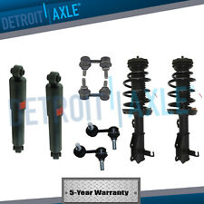 8pc Sway Bar Links & Shock Absorbers & Struts For 2005-2012 Nissan Pathfinder
