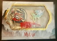 Disney Mulan Live Action Film Limited Edition Pin Set