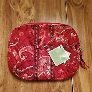 Vera Bradley Cosmetic Bag Mesa Red New With Tags
