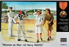 "Masterbox 3556 1:35th échelle ""Women at War"" US NAVY Waves"