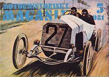 Motorhistoriskt Magasin Swedish Car Magazine 5 1981 Frankrikes 040317nonDBE